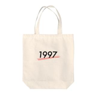 1997 Tote bags