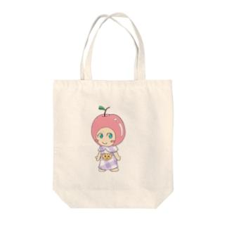 紫えみりんごちゃん Tote bags