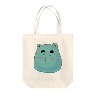 くまのりょーちゃん Tote bags