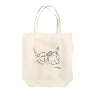 ナガオくんとシマエちゃん(白) Tote Bag