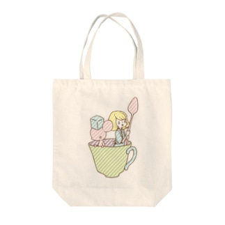 Coffee cup Tote bags