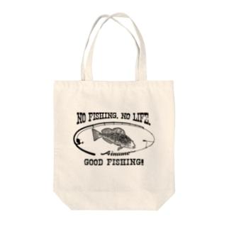 アイナメ_8K Tote bags