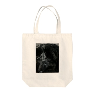 Dog Up to Face2 Tote bags