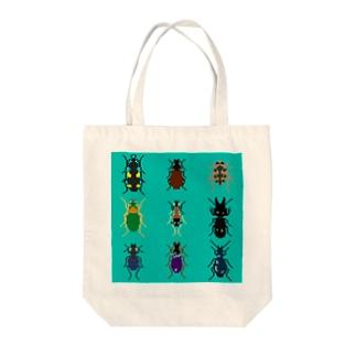 かっこいい日本のゴミムシ Tote bags