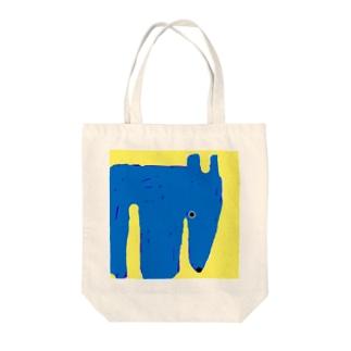 アナグマさん Tote bags