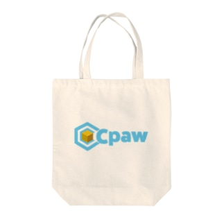 Cpaw_NewLogo Tote bags