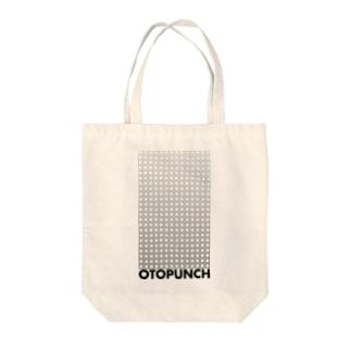 オトパンチ・スクエア Tote bags
