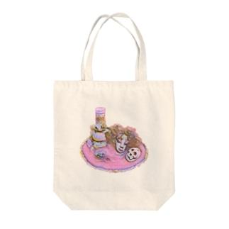 魔女の首 Tote bags