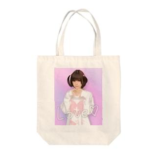 ☁︎ 睡魔ちゃん ︎︎☁︎︎⋆̩ Tote bags