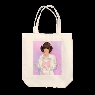 ☁︎ 睡魔ちゃん ︎︎☁︎︎⋆̩の☁︎ 睡魔ちゃん ︎︎☁︎︎⋆̩ Tote bags