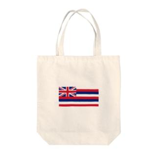 ハワイ 州旗 Tote bags