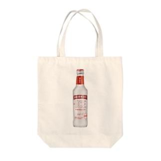 スミノフアイス Tote bags