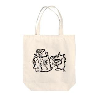 三匹の子豚 Tote bags