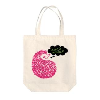 まーぼちぼちで! Tote bags