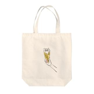 アイスクリム Tote bags