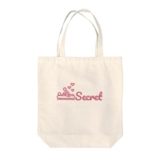 secretlogo Tote bags