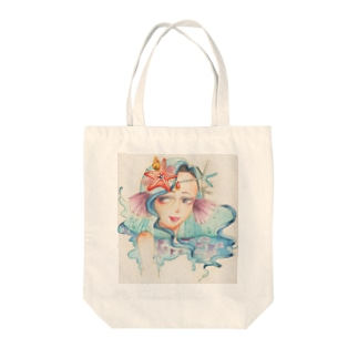 water fairy Tote bags