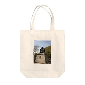 武田信玄像 Tote bags