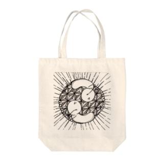 宗教画っぽいまめ Tote bags