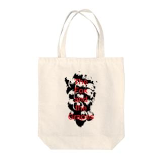 Grapes Tote bags