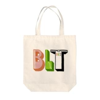 ベーコンレタスティーシャツ Tote bags