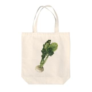 カブ Tote bags