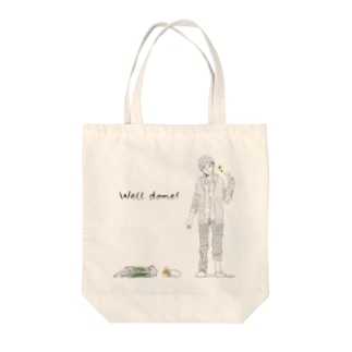 Well done! Tote bags