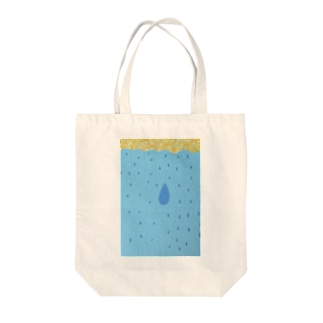 雨の恵み トートバッグ
