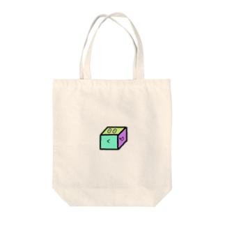いぇいcube Tote bags