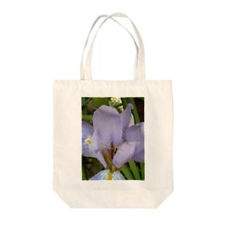 ペールヴァイオレット Tote bags