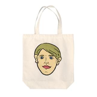 ブロンド Tote bags