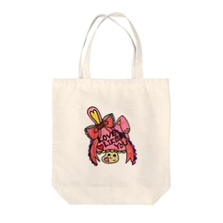 HAPPY♡kinocco Tote bags
