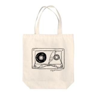 テープの幻 Tote bags