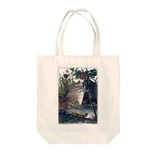 池の生命 - The British Library Tote bags