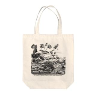 蓮の花 - The British Library Tote bags