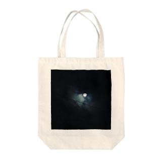 月明かり Tote bags