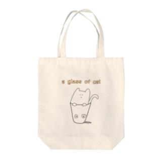 コップ猫 Tote bags