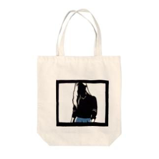 人物(girl) Tote Bag