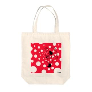 水玉ちゃん Tote bags