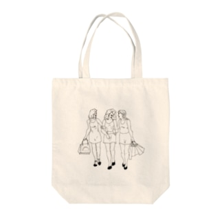 las chicas Tote bags