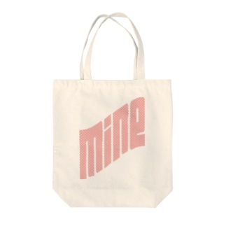 MINEpink Tote bags