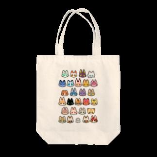 トンガリゴートの猫科JKアニマルver Tote bags