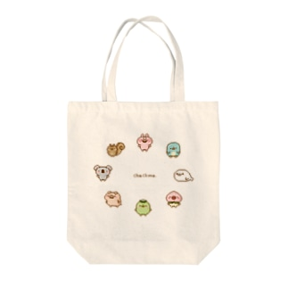 chackmoドットキャラグッズ(円) Tote bags