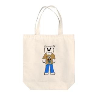 しろくま太郎 Tote bags