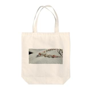 パールブレスレット Tote bags