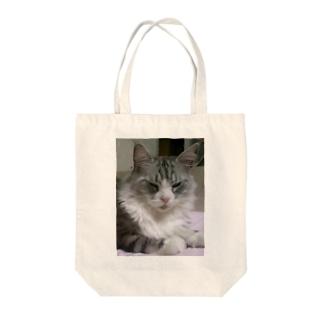 オネムです Tote bags
