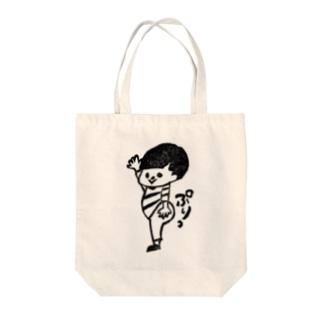ぷりケツくん Tote bags