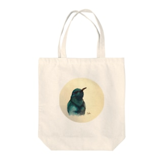 ハチドリ Tote bags