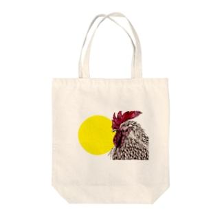 にわとりとたまごの黄身 Tote bags