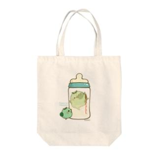 chackmo かっぱさん(哺乳瓶) Tote bags